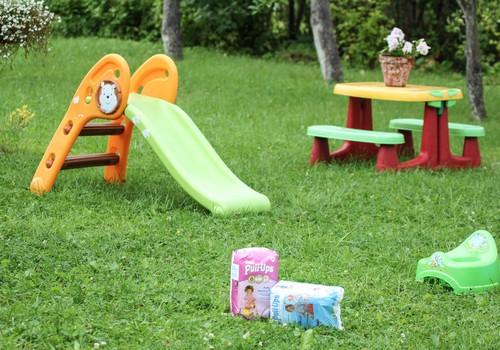 Fizioterapeite: Bērni līdz 2 gadu vecumam var nesaprast podiņa jēgu