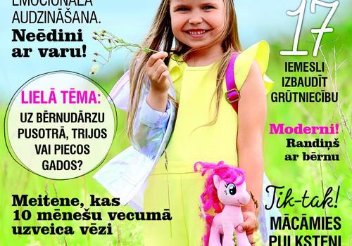 Kas interesants augusta žurnālā MANS MAZAIS!