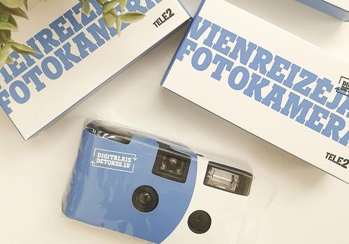 Kurš iegūst Tele2 vienreizējo fotokameru?
