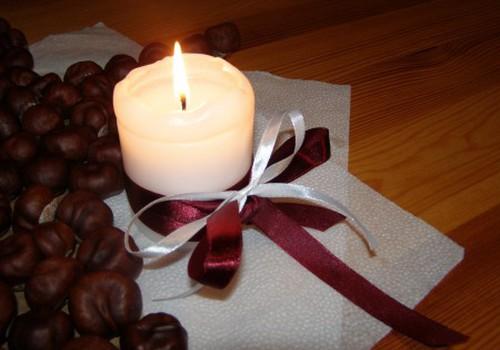 Svētku sajūtai galda dekors