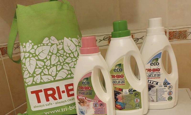 Dabīgie Tri Bio ekolīdzekļi veļas mazgāšanai
