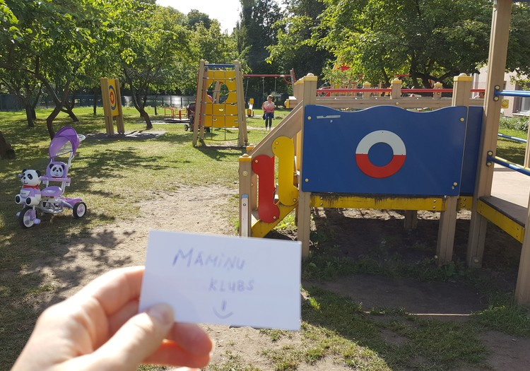 Atklājām foršu rotaļu laukumu Ķengaragā