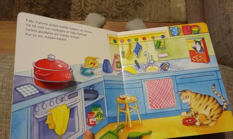 """Grāmata mazajiem lasītājiem - """"Kur tu esi, mazais kaķēn?"""""""