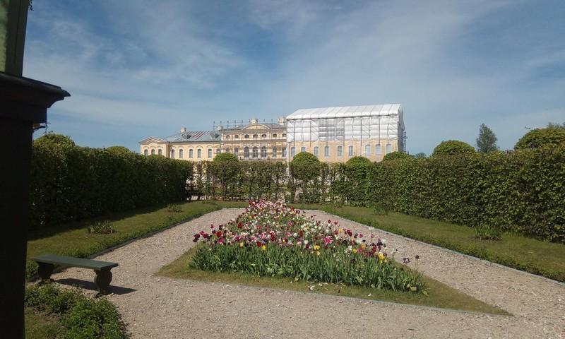 Latvijas pērle- Rundāles pils