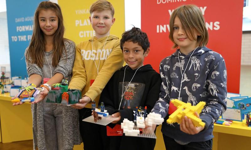 LEGO atklāj jaunu kampaņu, mudinot bērnus pārveidot pasauli!