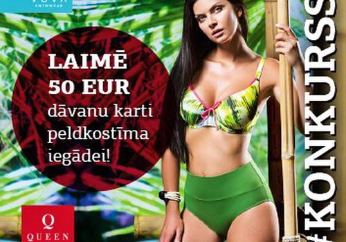 Piedalies konkursā un laimē izvēlēto VOVA Lingerie peldkostīmu no QUEEN Lingerie veikalu tīkla!