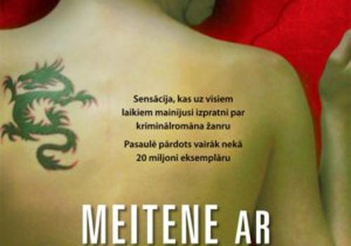 """Notiks """"Millenium"""" triloģijas pirmās daļas """"Meitene ar pūķa tetovējumu"""" atvēršanas svētki"""