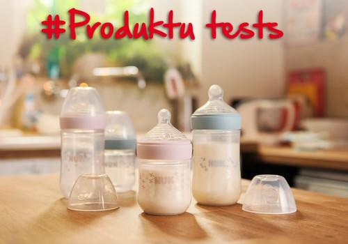 NUK Nature Sense pudelītes meklē testētājus!