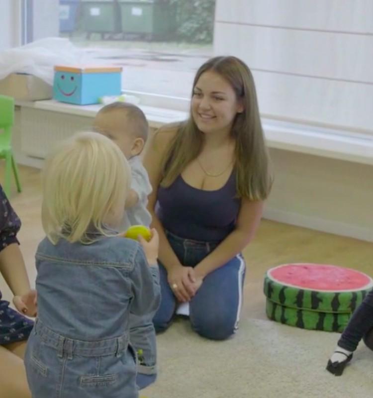 VIDEOieteikumi rotaļām ar 10-14 mēnešus vecu mazuli