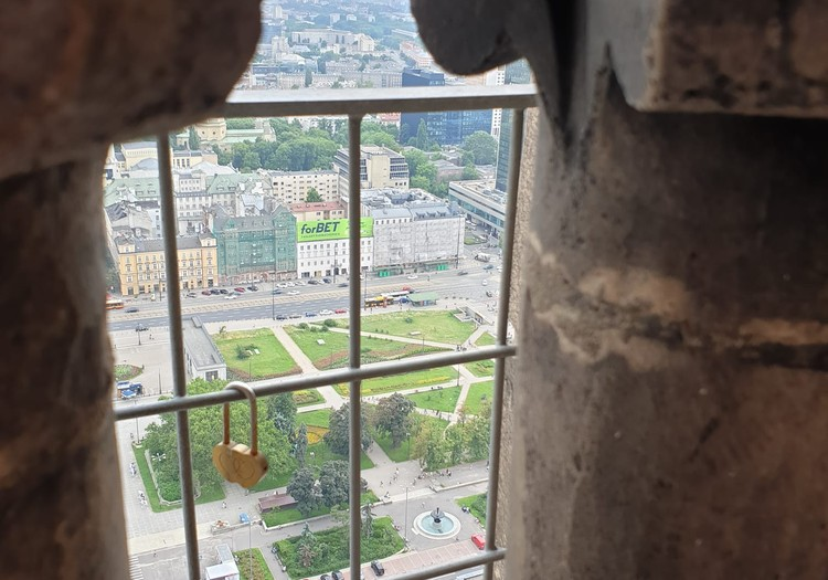 Zinātņu akadēmijas skatu laukums Varšavā