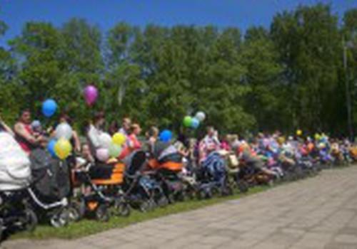 RĒZEKNĒ mega pastaiga apvienoja vairāk kā 300 vecākus!