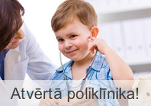 Atvērtā poliklīnika Bērnu slimnīcā - satiec dažādus speciālistus bez maksas!