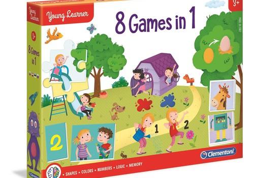 Facebook KONKURSS: Laimē Clementoni mācību spēļu komplektu!