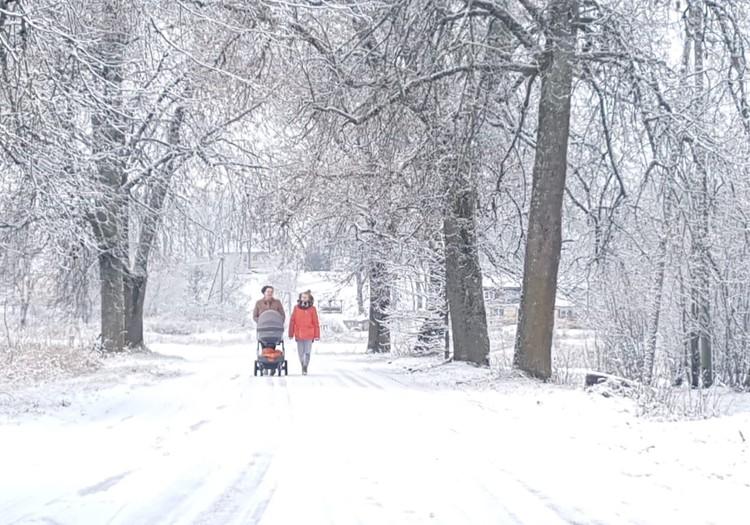 Doties pastaigā ar diviem maziem bērniem- izaicinājums Nr.1