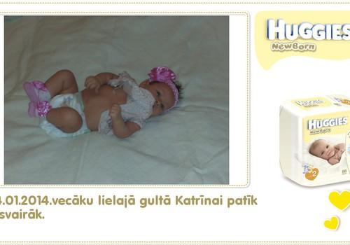 Katrīna aug kopā ar Huggies® Newborn: 79.dzīves diena