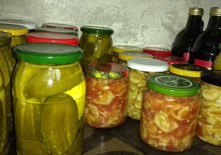Receptes gardumiem ziemai no omes pierakstu kladītes jeb mammas bērnības garšas