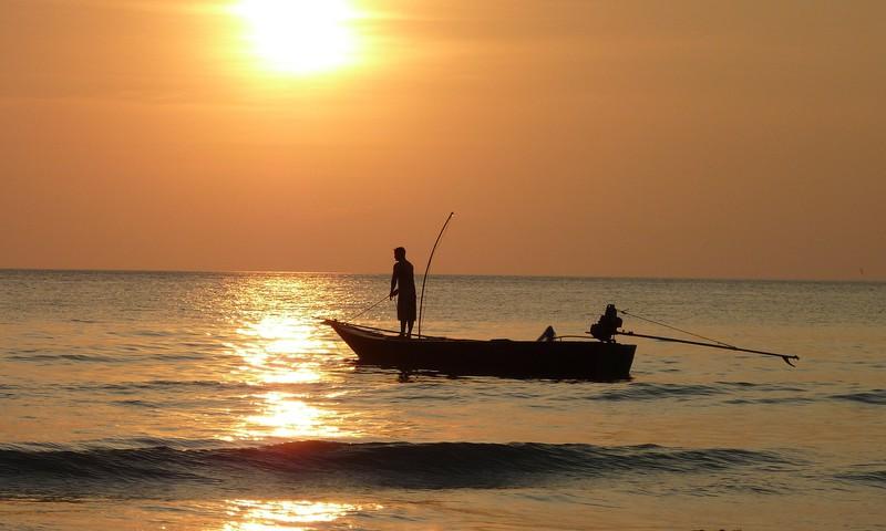 Zvejnieksvētki divatā ar bērnu