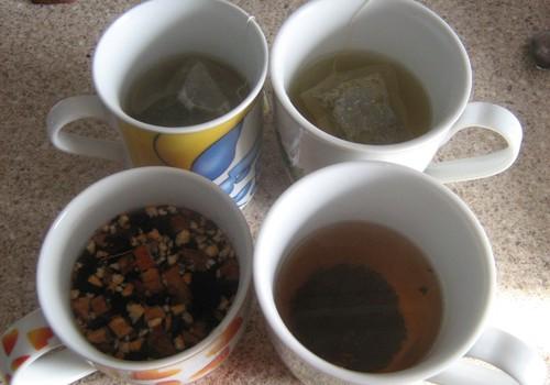 Tējas gabaliņi sejas un matu veselībai