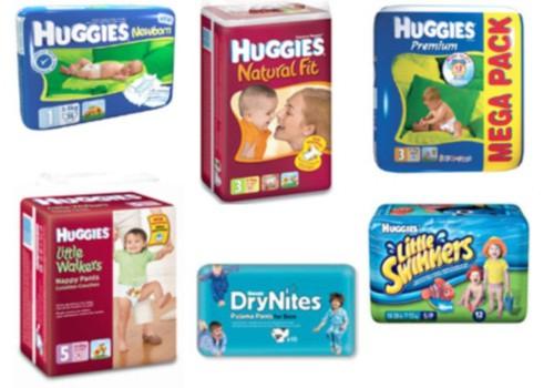 Kur ražo Huggies®  autiņbiksītes?