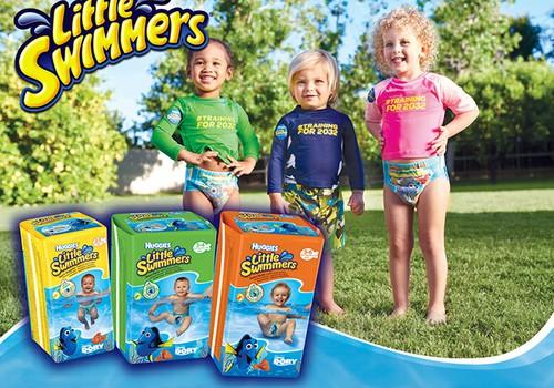 """Huggies® Little Swimmers® pasargās no """"negadījumiem"""" ūdenstilpnēs!"""