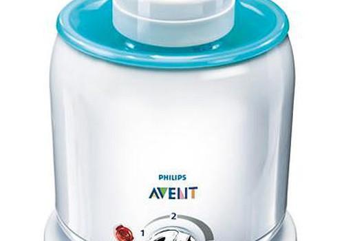Philips AVENT pudelīšu sildītāju saņem..