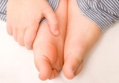 Bērnam sāp kājas