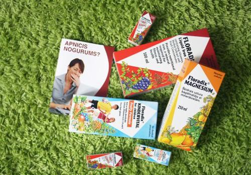 Floradix - ar vitamīniem par priecīgu, veselīgu rudeni!