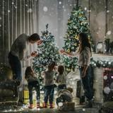 2021.gadu Rokpeļņu ģimene sagaida ar četriem bērniem.