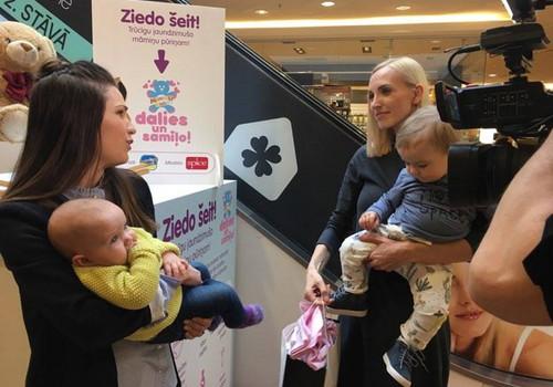 Trūcīgās māmiņas tiks apgādātas ar jaundzimušo pūriņu kastēm Latvijas dzemdību nodaļās
