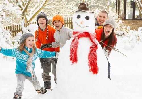 Parādi sniegavīru un tiec pie balvas!