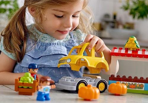 Kurš laimējis Lego Duplo komplektu?
