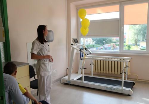Rehabilitācija Bērnu slimnīcā kļūst arvien mūsdienīgāka