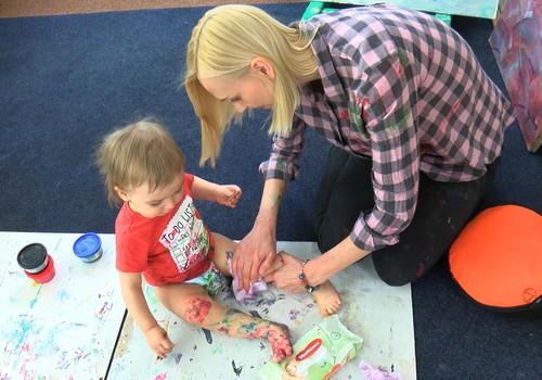 Mazulis un māksla- vai nebūs pārāk liela netīrība? VIDEOstāsts