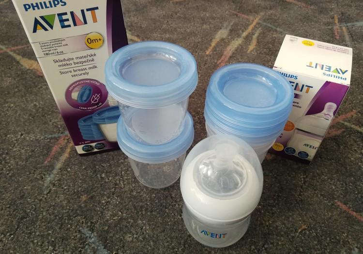 Philips piena uzglabāšanas trauciņi