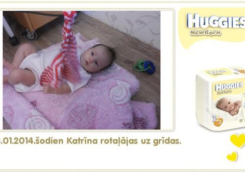 Katrīna aug kopā ar Huggies® Newborn: 78.dzīves diena