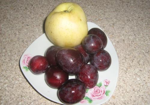 Plūmju un ābolu biezenītis