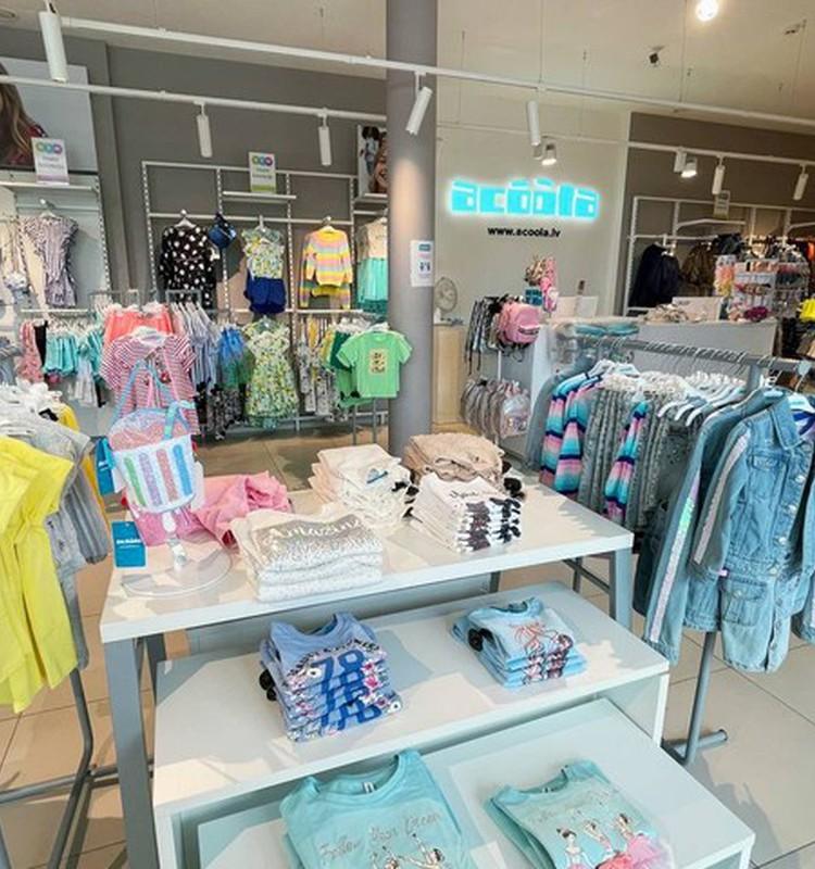 Kur šovasar meklēt bērnu apģērbu? Bērnu apģērbu veikala Acoola apskats