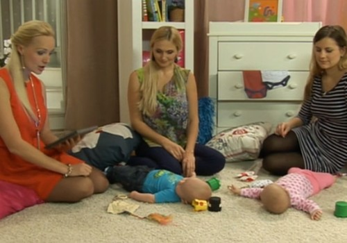 ONLINE TV videosaruna: projekta Huggies® Brīnumu istabas atklāšana