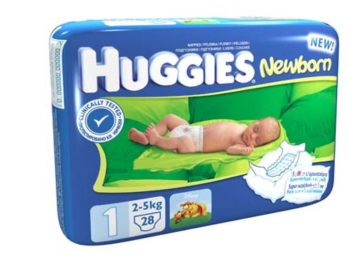Huggies® Newborn autiņbiksīšu tests ir beidzies!