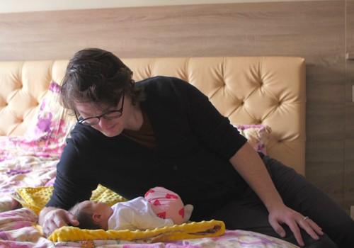 Māmiņas un bērniņa pirmās dienas kopā