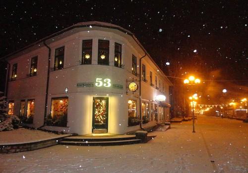 Ziemas pasaka ir sākusies - ārā snieg. Parādi, kā izskatās aiz Tava loga!