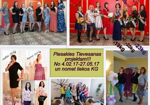 """Jelgavas māmiņu klubs izsludina pieteikšanos uz projektu """" Tievējam kopā ar Jelgavas māmiņu klubu 4""""  no 4.02.17-27.05.17"""