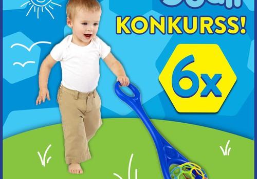 Kuru mammu mazuļi rotaļāsies ar foršajām Oball rotaļlietām?