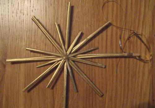 Zvaigžņu rotājumi eglītei