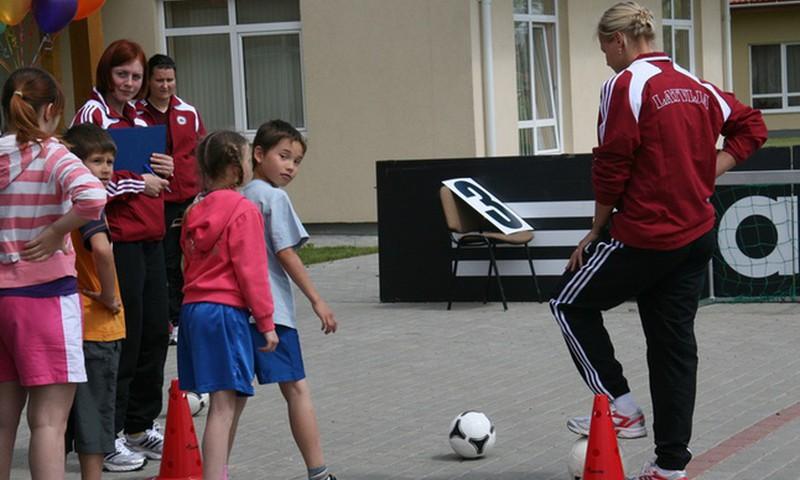 Izvēlamies sporta nodarbības bērnam
