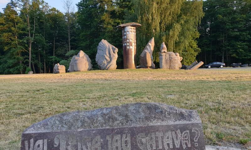 I. Rankas Akmens skulptūru parks