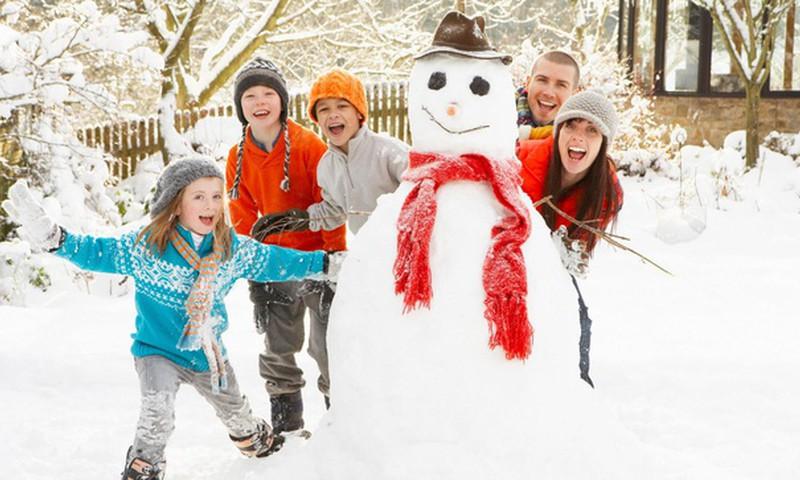 Sniega diena - ziemas prieku baudītājiem