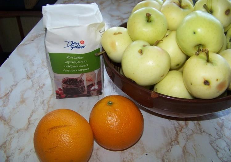 Ābolu un apelsīnu ievārījums