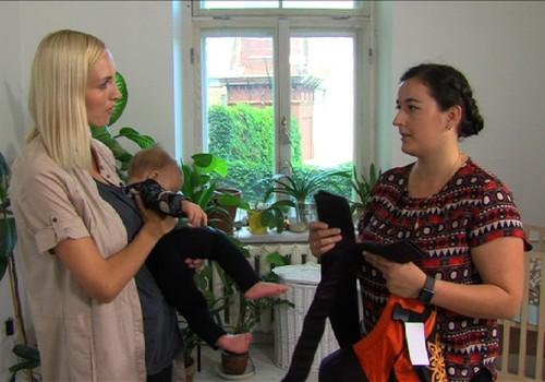 VIDEO: Kristīne Virsnīte kopā ar dēlu iepazīst ergosomas priekšrocības