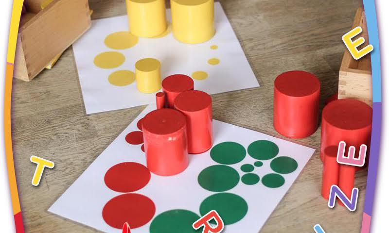 Grupējam priekšmetus pēc krāsām un figūrām